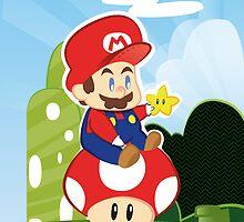 Mario by nacurutu
