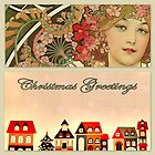 Retro Christmas Greetings by ©The Creative  Minds