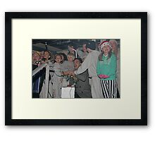 Tom Parker from The Wanted Framed Print