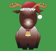 X-mas Reindeer Kids Tee