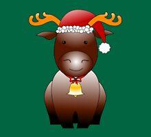 X-mas Reindeer Unisex T-Shirt