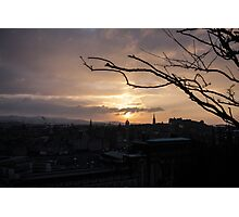 Fairy Tales Sunset Photographic Print