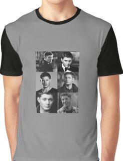 Dean Winchester Profile Edit Graphic T-Shirt