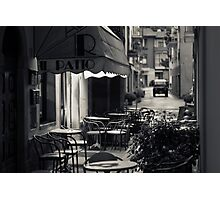 Il Patio Bar, Pieve Santo Stefano (Arezzo, Italy) Photographic Print