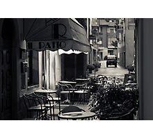 Il Patio Bar, Pieve Santo Stefano (Arezzo, Italy) Photographic Print