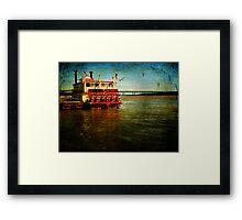 The River Rose Framed Print