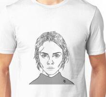 Cara Delevingne Monochrome Unisex T-Shirt