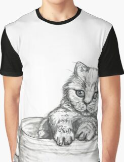 Kitten Mug Graphic T-Shirt