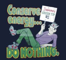 Archie conserve energy do nothing by borntodesign