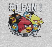 Angry birds no.1 fan by borntodesign