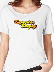 Superstar DJ Women's Relaxed Fit T-Shirt
