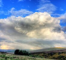 Over Gorple Reservoir by fotohebden