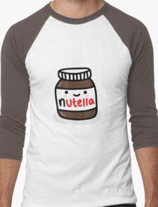 Nutella Jar Men's Baseball ¾ T-Shirt