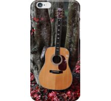 Martin Under The Red Maple iPhone Case/Skin