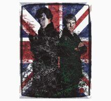 Sherlock & Watson One Piece - Long Sleeve