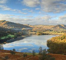Grasmere From Loughrigg by Jamie  Green