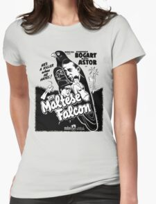 The Maltese Falcon Womens Fitted T-Shirt
