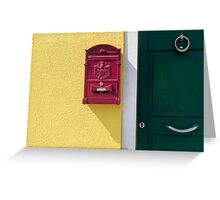 Send and receive  Greeting Card
