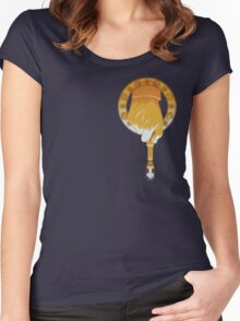 HAND OF THE DOCTOR Women's Fitted Scoop T-Shirt