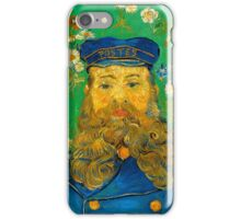 Vincent Van Gogh - Portrait of Joseph Roulin, 1889 iPhone Case/Skin