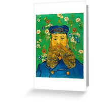 Vincent Van Gogh - Portrait of Joseph Roulin, 1889 Greeting Card