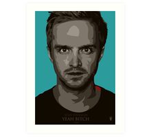 Jesse Pinkman Bitch! Art Print