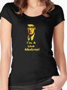 Bottom - Love Albatross Women's Fitted Scoop T-Shirt
