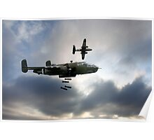 B25 Mitchell Bombers Poster