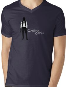 Cantina Royale Mens V-Neck T-Shirt
