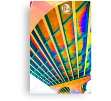 Color Overpass Canvas Print