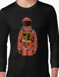 Dave the astronaut from 2001: A Space Odyssey Long Sleeve T-Shirt