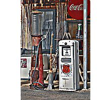 CocoCola 7Up and Gas Photographic Print