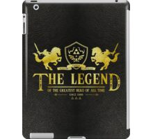 The Greatest hero of all time iPad Case/Skin