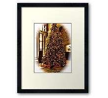 Waiting For Santa? Framed Print