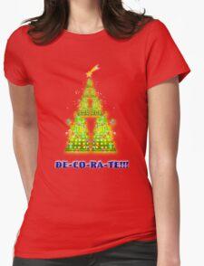 DE-CO-RA-TE!!!! Womens Fitted T-Shirt