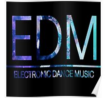 EDM - Texture Poster
