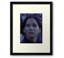 Katniss Everdeen/Jennifer Lawrence Painting Framed Print