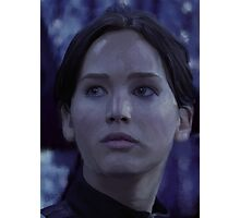 Katniss Everdeen/Jennifer Lawrence Painting Photographic Print