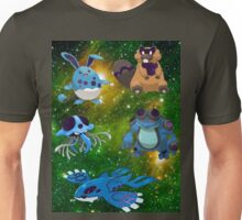 Spacy water pokémons Unisex T-Shirt