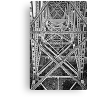 Trestle Transcendent in Black and White Canvas Print