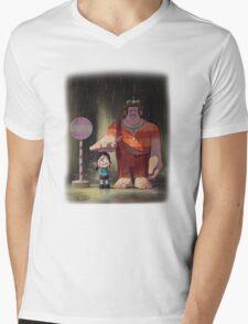 My Neighbor Stinkbrain Mens V-Neck T-Shirt