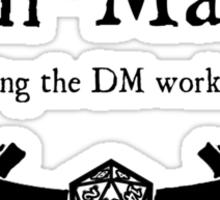 DnD Min Maxer Sticker