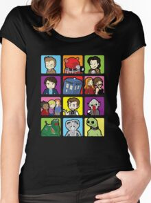 Doctor Squares Women's Fitted Scoop T-Shirt