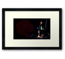 A vague memory Framed Print