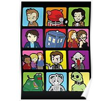 Doctor Squares Poster
