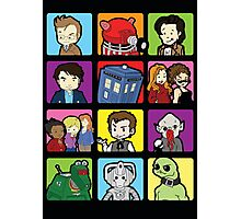 Doctor Squares Photographic Print