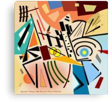 Suprematism (Homage to Olga Rozanova) Canvas Print