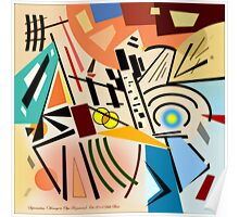 Suprematism (Homage to Olga Rozanova) Poster