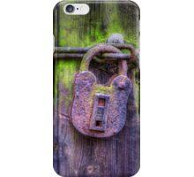 Rusty Lock iPhone Case/Skin