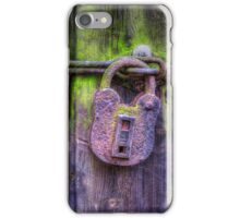 Rusty Lock iPhone Case/Skin